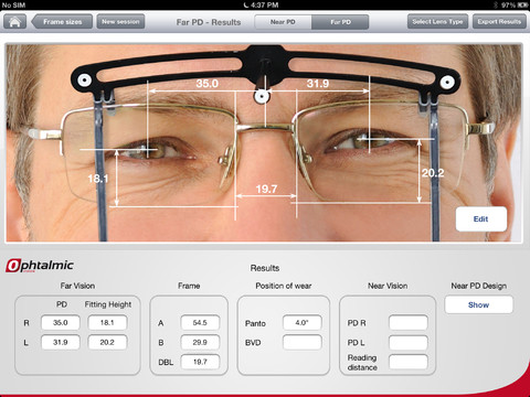 Ophtalmic Vision Fit 1